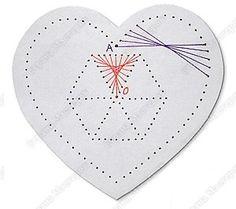 Эта открытка выполняется в технике «Изонить» на картоне или плотной бумаге. Для работы понадобятся также цветные нитки для вышивания, игла для вышивания и шило для прокалывания отверстий. О том ...