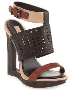 BCBGMAXAZRIA Meteur Leather Sandal
