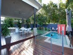 Sanctuary Cove Gold Coast Modern Garden Design, Gold Coast, Deck, Real Estate, Outdoor Decor, House, Home Decor, Decoration Home, Home