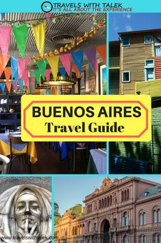 Here is a Buenos Aires travel guide full of tips and advice that will help you save time and money as you explore this exciting city. If you've made up your mind to go, congratulations on a great decision. If you're still debating whether to go or not, debate no longer, go! #argentina #buenosaires #travelblog