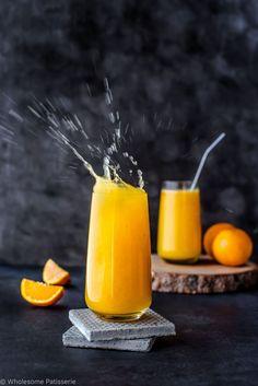 Orange Turmeric and Coconut Juice!
