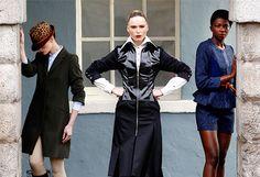 Showcase Fashion 2013- #Irish #Fashion High Collar Shirts, Irish Fashion, Tweed Shorts, Hot House, Short Suit, Coat Dress, Fashion Jewelry, Suits, Womens Fashion