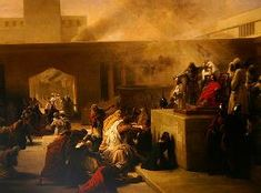 Francesco Hayez - The Coronation of Joas