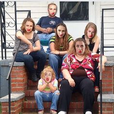 gross family, gross faces. thats honey boo boos family by the way.