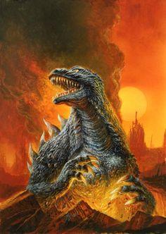 Godzilla by Bob Eggleton