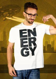 Energy T-Shirt von Kater Likoli, Mannheim, Deutschland   Design by Kater Likoli $19.95