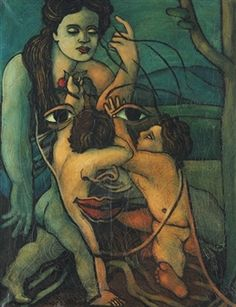 Geminis By Francis Picabia