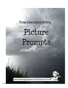 FREE! 6 pgs. If you're teaching descriptive writing, picture prompts are a great exercise. Teach your students to use concrete, or sensory, detail.