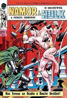 Príncipe Submarino e O Incrível Hulk (Super X) n° 52 - Ebal