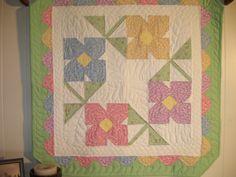 """Grandmas Garden 2010  - Merrys Stitchin"""""""