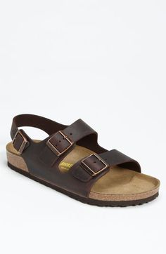 Birkenstock 'Milano' Sandal (Men) available at #Nordstrom