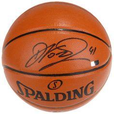 Dirk Nowitzki Dallas Mavericks Autographed Spalding Replica Basketball - Panini - $399.99