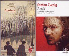 """#roman #littérature : lot de 2 livres de poche """"Amok"""" Et """"Clarissa"""" De Stefan Zweig"""