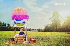 DIY hot air balloon Brutcher Photography by Peggy Brutcher