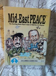 This rare game has all the pieces. It reflects a point in political history. Dinner Party Games, Vintage Board Games, Peace, History, Handmade Gifts, Etsy, Kid Craft Gifts, Historia, Craft Gifts