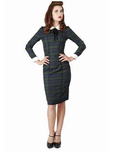 Lisa tartan dress, Collectif