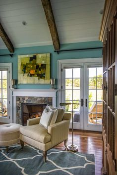 Fireplace (from House of Turquoise: HGTV Dream Home 2015)