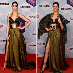 Yay or Nay : Deepika Padukone in Monisha Jaising I do not know how I feel about this outfit on Deepika Padukone, it is definitely something unique and different I have mixed thoughts on this outfit hmmm.......