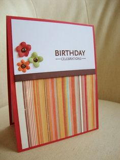 $4 - another very simple birthday card