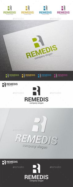 Letter R Remedis - Logo Design Template Vector #logotype Download it here: http://graphicriver.net/item/letter-r-logo-template-remedis/9409278?s_rank=1258?ref=nexion