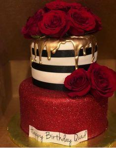 Ozel gunlerinizi emanet edin, Siz isteyin biz yaradaq💜 If you want incredible and tasty cake or sweets say us, we made u dear❤️❤️❤️ e Beautiful Birthday Cakes, Beautiful Cakes, Amazing Cakes, Beautiful Gorgeous, Fancy Cakes, Cute Cakes, Pretty Cakes, Bling Cakes, 18th Birthday Cake
