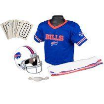 Franklin Sports NFL Buffalo Bills Deluxe Youth Uniform Set, Small
