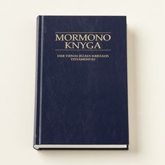 The Book of Mormon Lithuanian