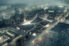 Smithsonian Institution South Campus Master Plan | Architect Magazine | Bjarke Ingels Group (BIG), Washington, DC, USA, Community, Cultural, Hospitality, Planning, Addition/Expansion, New Construction, Entryway, Modern, 2016 AIA Honor Awards, 2016 AIA Honor Awards: Regional & Urban Design, AIA - National Awards 2016, Cultural Projects, District Of Columbia, Washington-Arlington-Alexandria, DC-VA-MD-WV