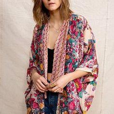 American Vintage Boho Kimono Jacket - Urban Outfitters