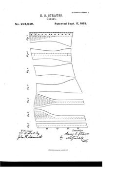 Patent US208049 - Improvement in corsets - 1878 - Google Patents