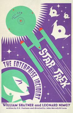 Star Trek: The Art Of Juan Ortiz - Art Book Featuring All 80 Episodes of 'Star Trek: The Original Series' as Retro Movie Posters