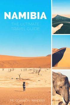Explore Namibia, the land of endless horizons with our Namibia travel guide, complete with all the information you need to plan your journey | Namibia travel guide | Things to see in Namibia | How to get around Namibia | Things to know before visiting Namibia | Why visit Namibia | Best of Namibia | Where to visit in Namibia | When to visit Namibia