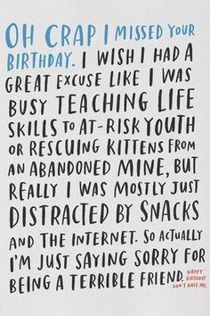 57 Best Belated Birthday