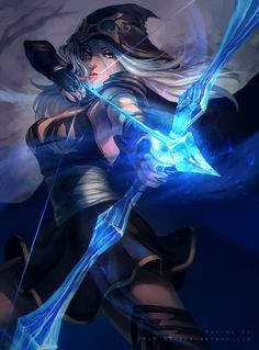 Ashe from League of Legends! by MaR-93 on DeviantArt