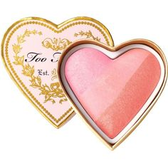 Too Faced Sweetheart Perfect Flush Blusher ($28) ❤ liked on Polyvore featuring beauty products, makeup, cheek makeup, blush, beauty and too faced cosmetics