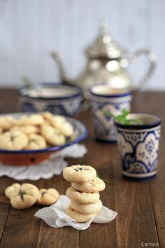 Naan e Berenji o galletas Persas de arroz