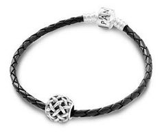 Pandora Braided Leather Bracelet W Charm From The Treasure Collection Take Guesswork Out Of Gifting