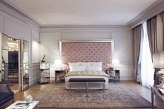 Le Royal Monceau Raffles Paris is a luxury design hotel in Paris district. Le Royal Monceau Rafflles Paris hotel offers luxurious rooms and a spa & pool. Decor, Paris Luxury, Room, Apartment Furniture, Interior, Living Room Bedroom, Home Decor, Hotels Design, Most Luxurious Hotels