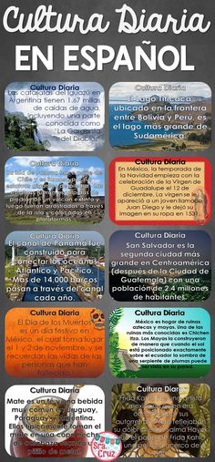 Adding Culture to Your Spanish Class with Cultura Diaria *Now with an all Spanish version*