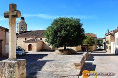 Iglesia de Ntr. Sra. de la Asunción en La Matilla. Localidad situada en el centro de la provincia de Segovia, con algo más de 100 hab. www.segoviaunbuenplan.com