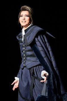 写真:「シェイクスピア」公演から、ウィリアム役の朝夏まなと=撮影・岸隆子