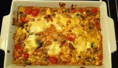 Vegetarisk lasagne med mozzarella - Alianaa - Recept Mozzarella, 20 Min, Ethnic Recipes, God, Lasagna, Dios, The Lord