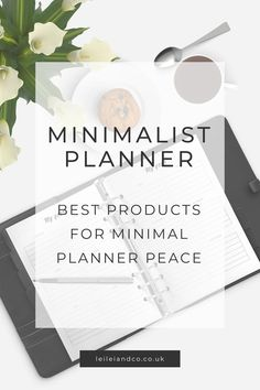 Minimalist planner: Best products for minimal planner peace Check out our round up of the best planner pages and planner accessories for minimal planner peace! Planner Dividers, Planner Inserts, Planner Organization, Daily Printable, Printable Planner Pages, Printables, Best Planners, Day Planners, Project Planner