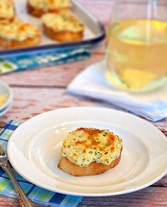Creamy & Cheesy Artichoke Bruschetta Recipe