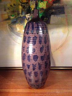 Large Studio Abstract Vase   eBay
