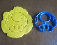 Toad Mushroom/Super Mario Cookie Cutter