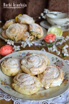 Hungarian Cake, Jacque Pepin, Winter Food, Cake Cookies, Baked Potato, Sweet Recipes, Camembert Cheese, Biscuits, Food And Drink