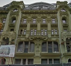 Formerly abandoned in Odessa, Ukraine.  Once was lost, but now is found. Note the restored plaster work. Wow!