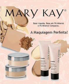 Faça uma make perfeita com os produtos Mary Kay.