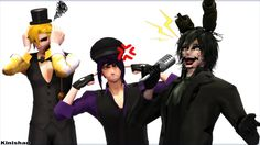 -BAD ENGLISH- That's why Freddy stay the main singer. And I think my Purple Guy and my Golden Freddy agree.Yes, Springtrap has a very b. [MMD FNAF] Springtrap the (very) bad singer. Fnaf Golden Freddy, Freddy S, Fnaf 1, Fnaf Drawings, Very Bad, Sims Mods, Five Nights At Freddy's, Sims 4, Manga